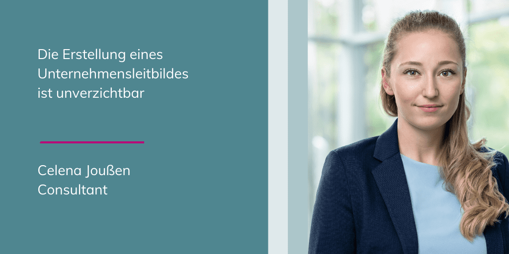 Celena Joußen - Die Erstellung eines Unternehmensleitbildes ist unverzichtbar