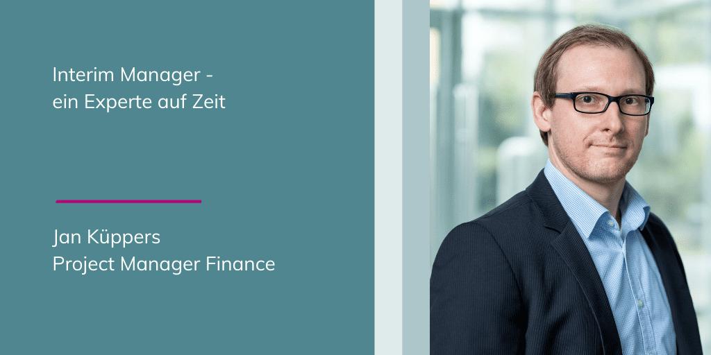 Jan Küppers: Interim Manager - ein Experte auf Zeit